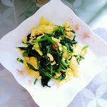 菠菜炒鸡蛋的做法[图]