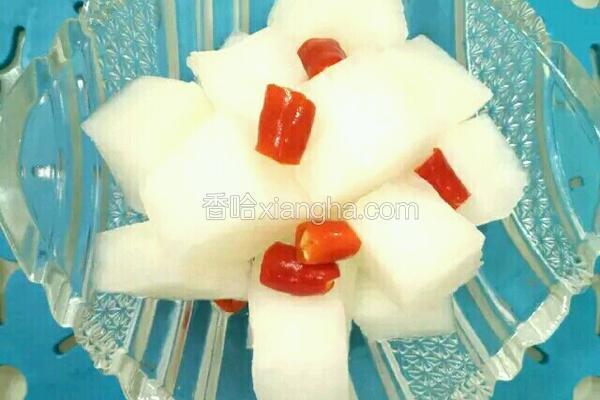 白米醋泡萝卜