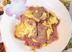罐头午餐肉煎蛋