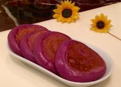 紫薯糯米椰丝饼