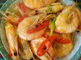 蒜爆大白虾的做法[图]