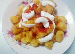 红薯番茄沙拉酱