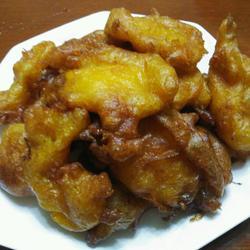 柿子糊塌(炸柿饼)