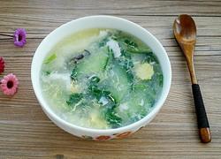 黄瓜木耳鸡蛋汤