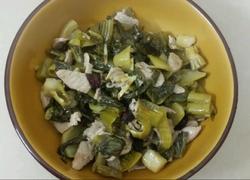梅菜炒瘦肉