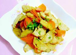 胡萝卜炒肉肠