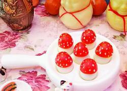圣女果鸽子蛋创意小蘑菇