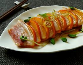 金瓜蒸咸肉