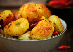 孜然香辣小土豆
