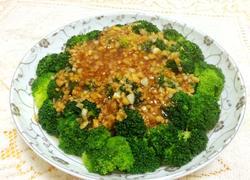 蒜蓉蚝油西兰花