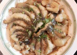 清蒸珍珠龙趸鱼片