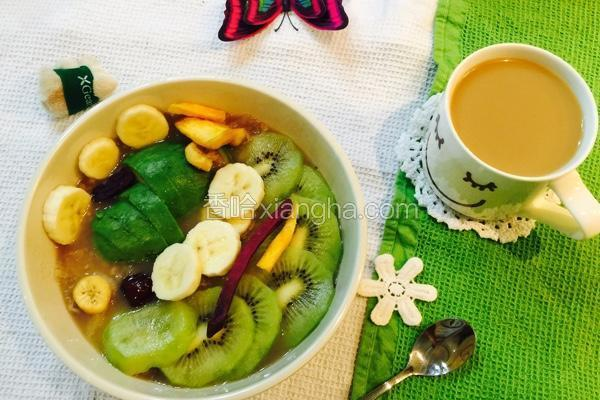 水果燕麦粥