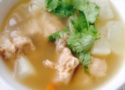 白萝卜清炖排骨汤