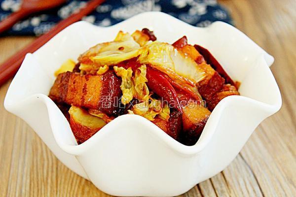 大白菜炖红烧肉