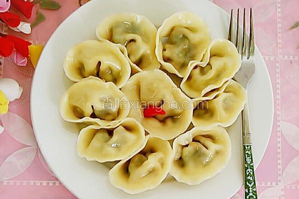 香菇青菜大肉饺子