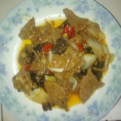 白油猪肝的做法[图]