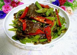 杭椒炒卤牛肉
