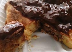 可可甘纳许荞麦蛋糕