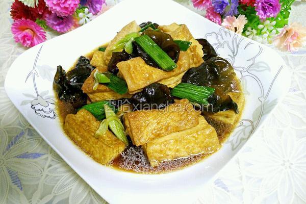 木耳烧豆腐