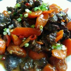 胡萝卜炖牛肉!