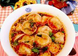牛肉韭黄酸汤水饺