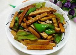 豆干炒辣椒