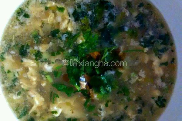蛤蜊鸡蛋汤