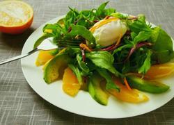 甜橙冰菜沙拉