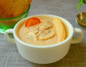 奶油蘑菇汤[图]