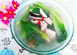 香菇白菜排骨汤