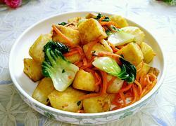 小白菜炒馒头