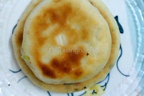 青椒火腿馅饼(电饭煲版)