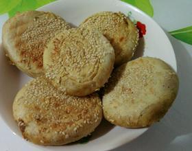 五香芝麻烧饼