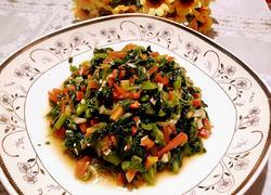 凉拌青菜碎