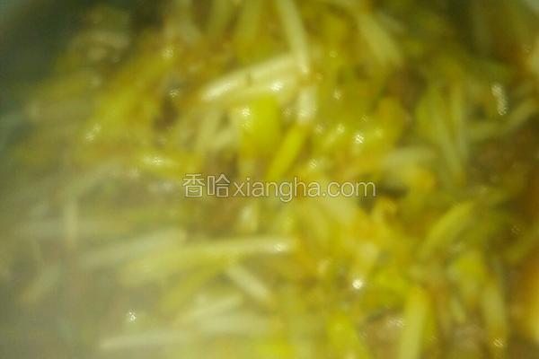 韭黄炒牛肉