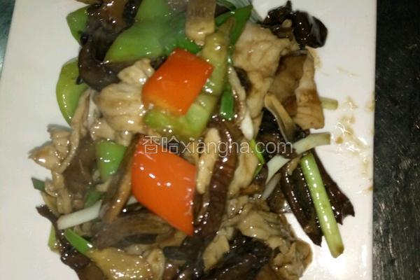 牛肝菌炒肉