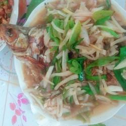 武昌鱼烧萝卜丝