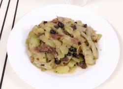 豆豉鲮鱼炒凉瓜