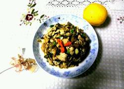 冬笋炒咸菜