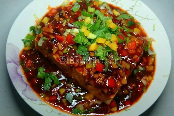 满堂红烧汁胆水豆腐