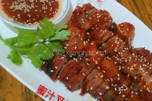 蜜汁叉烧肉(微波炉版)