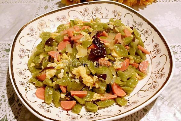 小吃麻食的做法_炒麻食的做法_菜谱_香哈网