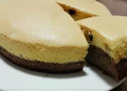 双色戚风蜜豆蛋糕