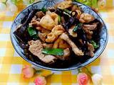 豆腐木耳炒肉的做法[图]