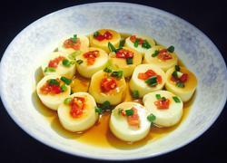清蒸剁椒豆腐