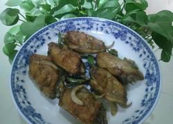 洋葱烤鸡翅