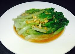 蒜汁蚝油生菜