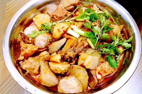 芋儿烧鸡的做法大全_芋儿烧鸡的做法_菜谱_香哈网
