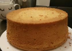 8寸鲜橙汁戚风蛋糕