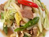 土猪肉炒白菜的做法[图]